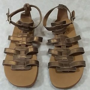 Born Concept leather sandals.